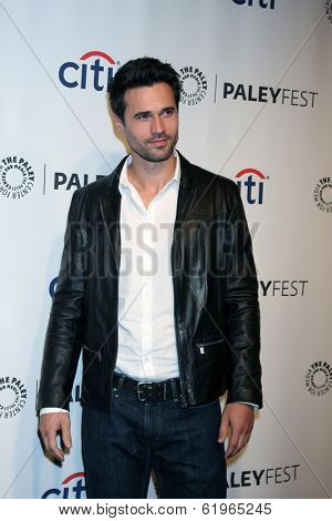 LOS ANGELES - MAR 23:  Brett Dalton at the PaleyFEST 2014 -