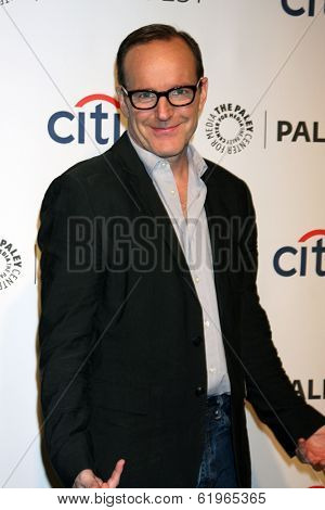 LOS ANGELES - MAR 23:  Clark Gregg at the PaleyFEST 2014 -