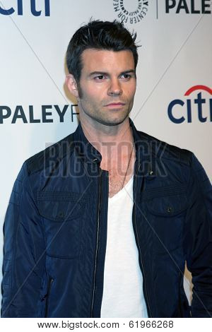 LOS ANGELES - MAR 22:  Daniel Gilles at the PaleyFEST 2014 -