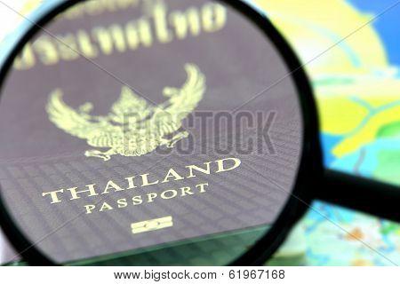 Thailand Passport Zoom