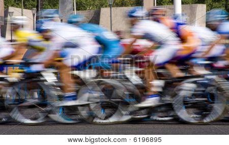 cyclist race