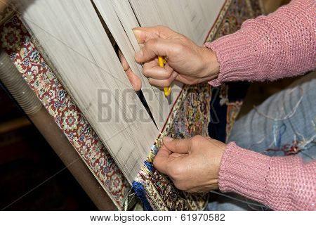 Making A Turkish Carpet