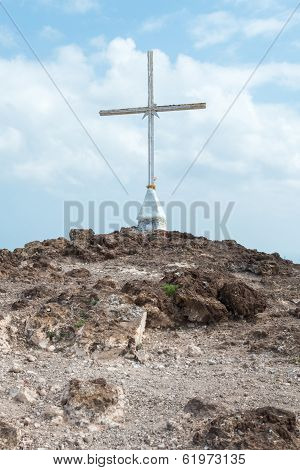 Christian Cross On Hill (3)