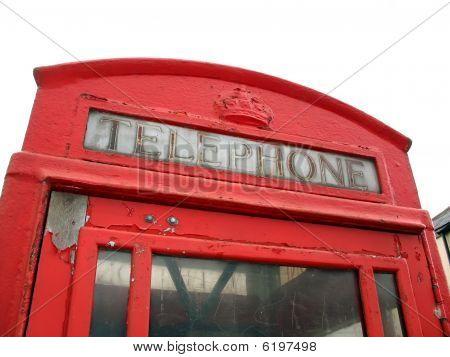 English Telephone Box