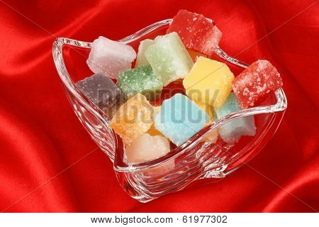 Colorful Mixed Fondant Candies