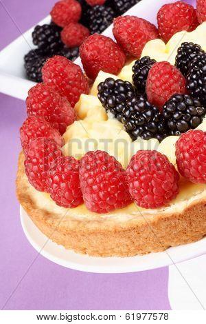 Custard Tart With Berries
