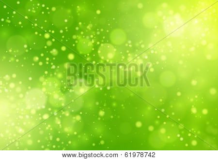 Blurred green abstrac