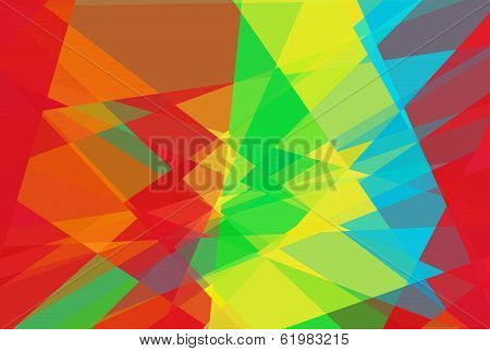Abstract cubism background