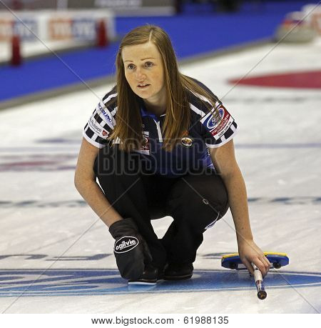 Curling Women Scotland Kerry Barr