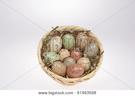 Easter Eggs Speckled