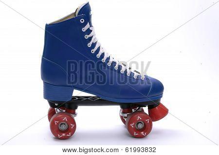 Single Roller Skate, Isolated