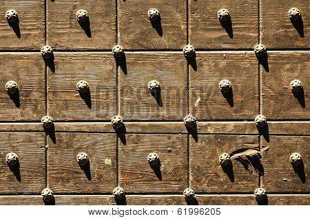Bergamo, Wooden Door
