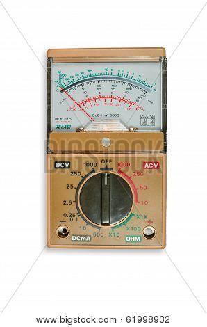 Analogic Volt-ohm Meter Multimeter