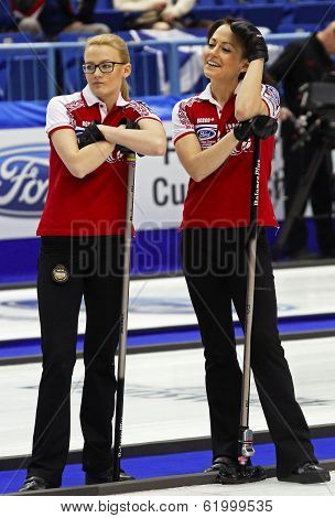 Curling Women Russia Saitova Galkina