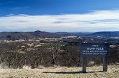 Montvale Overlook - Blue Ridge Parkway