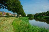 Picturesque Scene, River Meandering