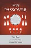 stock photo of seder  - Jewish Passover holiday Seder invitation  - JPG