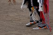 stock photo of native american ethnicity  - Native American dance - JPG