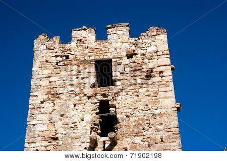 The Castle In The Seaside Chalkidiki, Greece