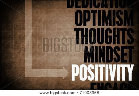 Positivity Core Principles as a Concept Abstract