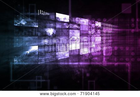 Data Management Technology and Big Data as Art