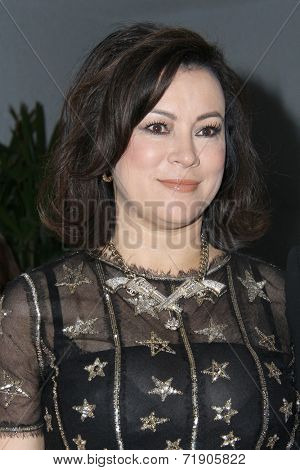 LOS ANGELES - SEP 12:  Jennifer Tilly at the Mercy For Animals 15th Anniversary Gala  at London Hotel on September 12, 2014 in West Hollywood, CA