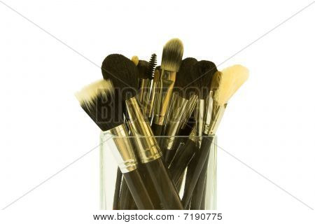 Group Of Make-up Brushes