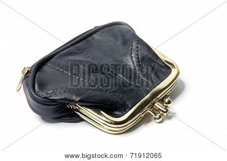 chinks in a leather purse