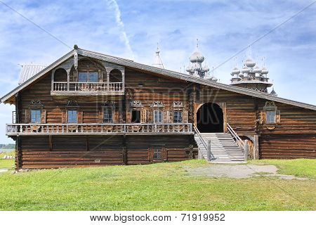 The House Of Karelian Peasant. Russia