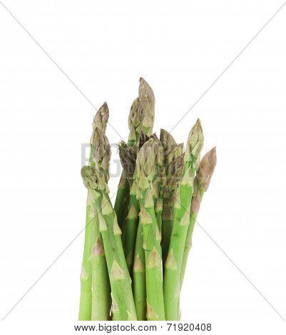 Close up of top asparagus.