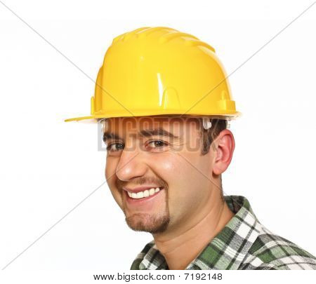 Manual Workwer Portrait