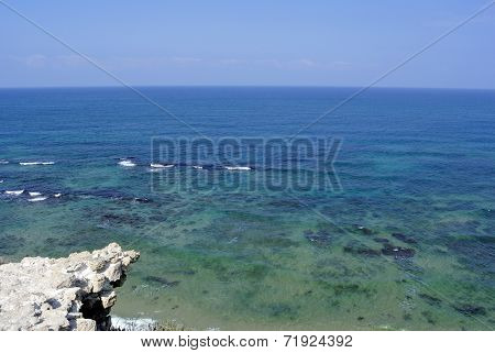 Clear Mediterranean Sea, Israel