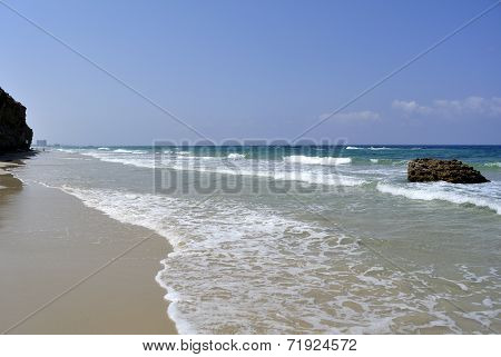 Mediterranean Sea Beach, Israel