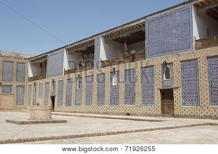 Palace Toshxovli, Khiva, Uzbekistan