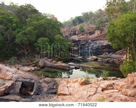 Gunlom (Waterfall Creek) pools and waterfalls, Kakadu National Park, Australia