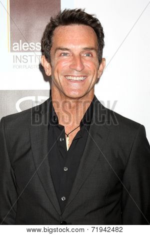 LOS ANGELES - SEP 13:  Jeff Probst at the 5th Annual Face Forward Gala at Biltmore Hotel on September 13, 2014 in Los Angeles, CA