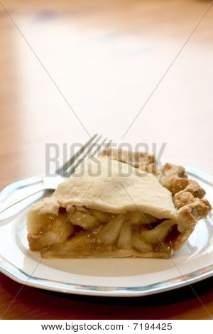 Slice Of Chunky Apple Pie