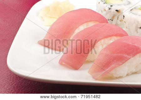 Tuna Sushi California Roll