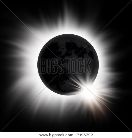 Solar Eclipse Of The Sun
