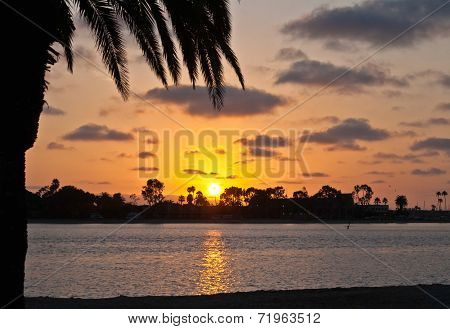 Sunset on San Diego Bay