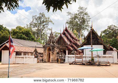 Ancient Lanna Style Temple