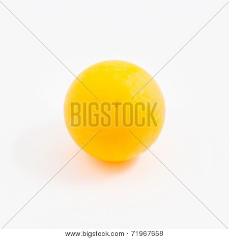Ping-pong Ball Isolated, Table Tennis Ball