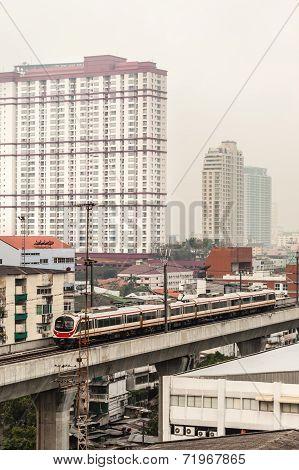 Public Transport In Bangkok City