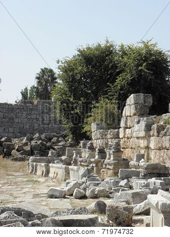 Remains of the Nymphaeum at Perg?.