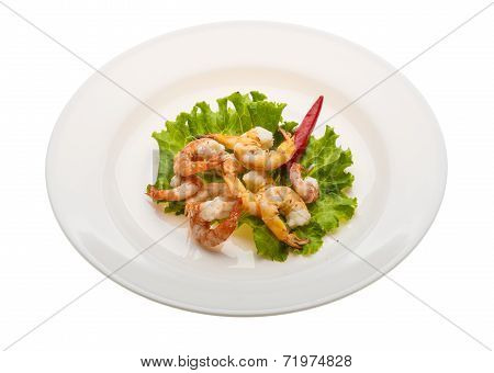 Unshelled King Prawn