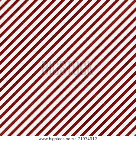Dark Red And White Striped Pattern Repeat Background