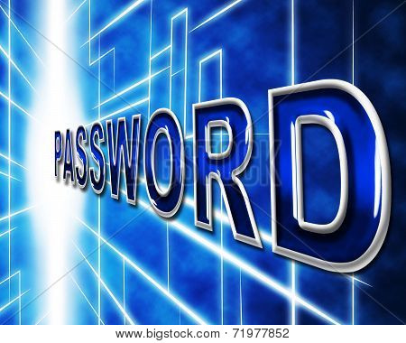 Password Passwords Indicates Log In And Accessible