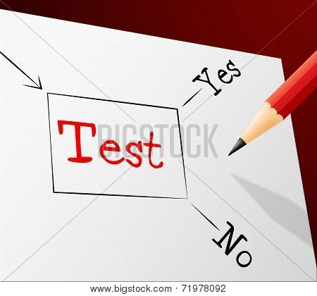 Test Choice Represents Questions And Answers And Quiz