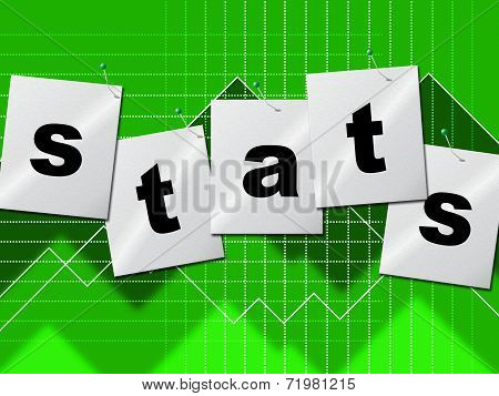 Statistics Data Indicates Stats Bytes And Reports