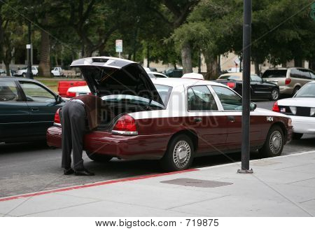 Cab Driver Loading Cab